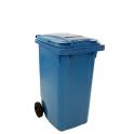 Container met gleuf en slot