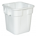 Vierkante Brute container 106 ltr, Rubbermaid