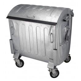 Staalverzinkte Container 1100 ltr