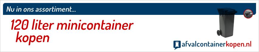 120 liter minicontainer kopen webshop