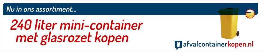 mini-container met glasrozet kopen