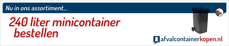minicontainer met inhoud van 240 liter bestellen webshop