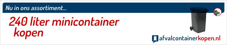 240 liter minicontainer kopen online