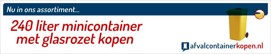 minicontainer met glasrozet kopen webshop