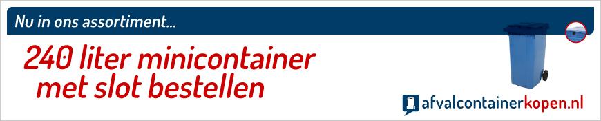 minicontainer met slot en gleuf bestellen webshop
