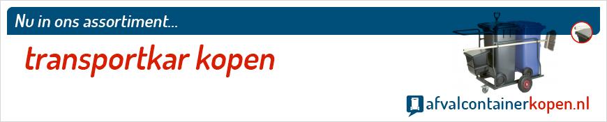 Transportkar kopen voor langdurig en intensief gebruik, eenvoudig online te bestellen bij Afvalcontainerkopen.nl.