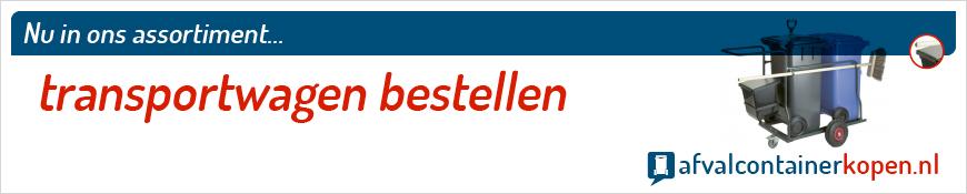 Transportwagen bestellen voor langdurig en intensief gebruik, eenvoudig online te bestellen bij Afvalcontainerkopen.nl.